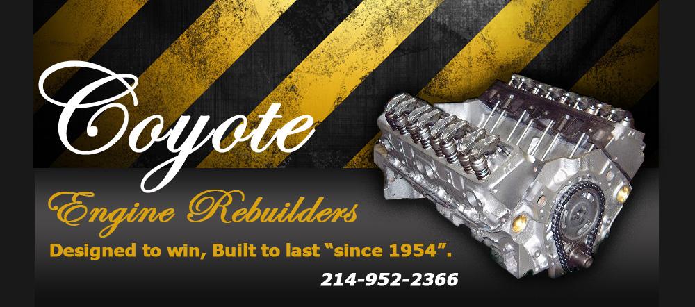 Coyote Engine Rebuilders